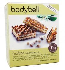 Bodybell biscoitos baunilha 10 peças 202 g