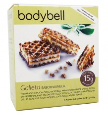 Bodybell Cookies Vanilla 10 Units 202 g