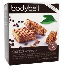 Bodybell biscoitos Moka 10 peças 209 g