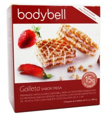 Bodybell Cookies Strawberry 10 Units 202 g