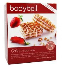 Bodybell Galletas Fresa 10 Unidades 202 g Fase 2