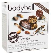 Bodybell Barra De Chocolate Crunch 5 Peças