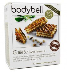 Bodybell Crackers, Vanilla Low-Sugar 10 units