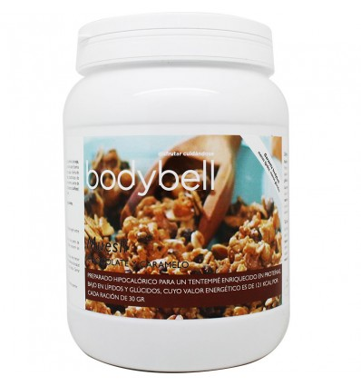 Bodybell Bote Muesli Chocolate Caramelo 450 g