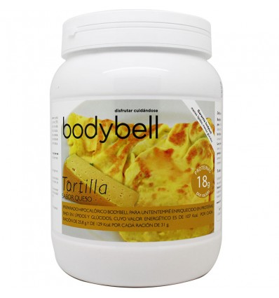 Bodybell Bote Tortilla Queso 450 g