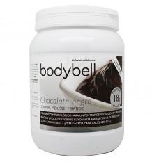 Bodybell Dunkle Schokolade Creme Glas 450 g