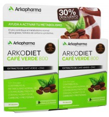 Arkodiet Cafe Green Duplo 60 Capsules