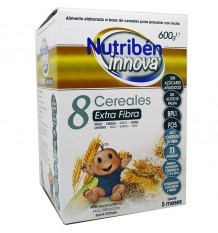 Nutriben Innova 8 Céréales Fibres 600 g