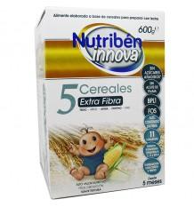 Nutriben Inova 5 Cereais Fibra 600 g