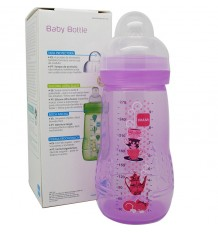 Mam Baby Bottle 270 ml pink
