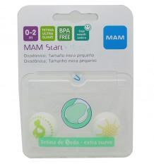 Mam Baby Chupeta Start Silicone 0-2 meses verde