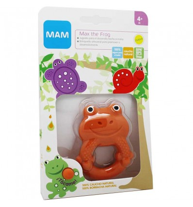 Mam Mordedor Friends Max the Frog 4 meses