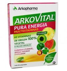 Arkovital De L'Énergie Pure De 30 Comprimés