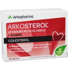 Arkosterol Levadura Roja Coq10 60 capsulas