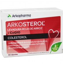 Arkosterol Red Yeast Coq10 60 capsules