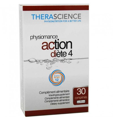 Physiomance Action Diete 4 30 Comprimidos