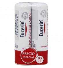 Eucerin Lip Protector Duplo Poupança