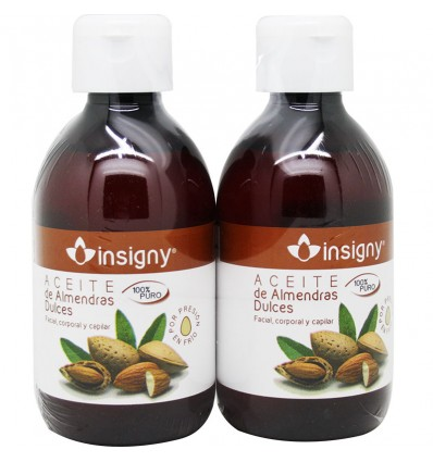 Insigny Aceite de Almendras Duplo 500 ml