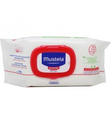 Mustela Sensitive Skin Wipes 70 units