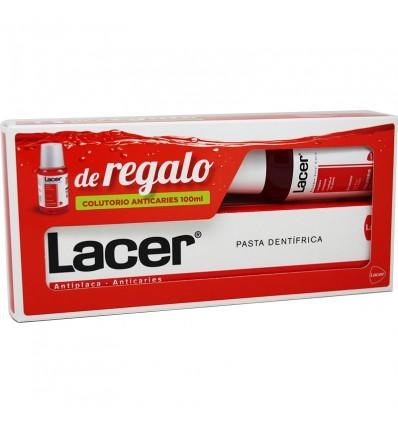 Lacer Pasta dental 125 ml Regalo