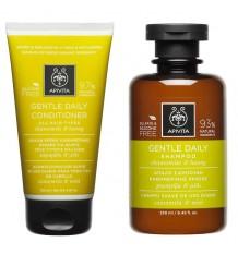Apivita Pack Daily Use Shampoo Conditioner