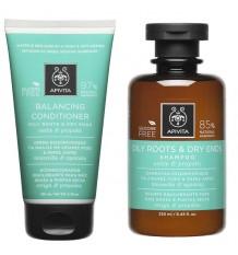 Apivita Pack Balancing Shampoo Conditioner