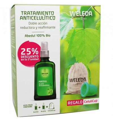 Aceite Abedul Weleda Pack Celulicup