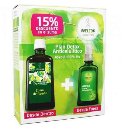 weleda Abedul Plan Detox Anticelulitico
