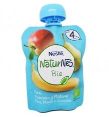 Naturnes Bio Sachet de Poire Pomme Banane 90 g