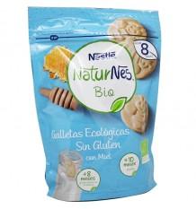 Naturnes Bio Gallestas Ecologicas sans Gluten au Miel 150 g