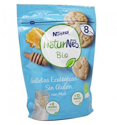 Naturnes Bio Gallestas Ecologicas Sin Gluten Miel 150 g