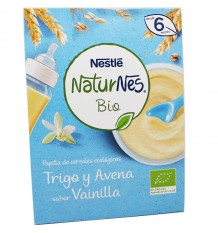 Naturnes Bio Slurry Ecological Wheat Oats Vanilla 240 g