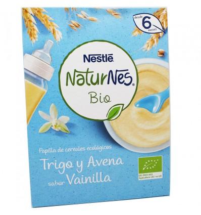 Naturnes Bio Mingau Ecologica Trigo, Aveia e Baunilha, 240 g