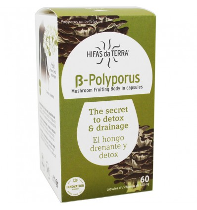 B Polyporus 60 capsulas
