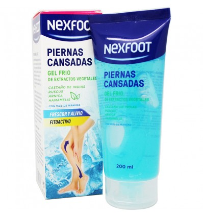 Nexfoot Piernas Cansadas Gel Frio 200 ml