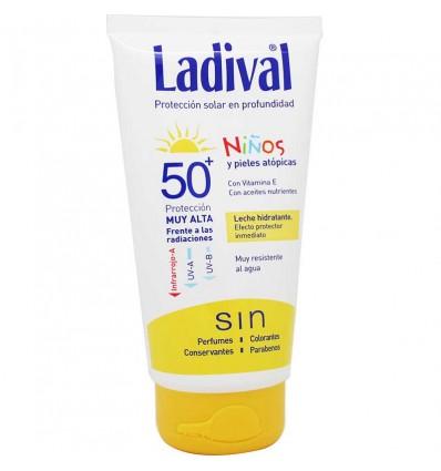 Ladival Crianças 50 150 ml de Leite Hidratante