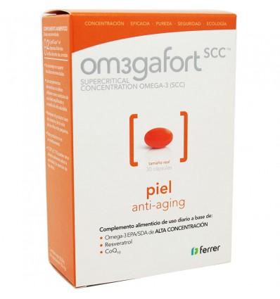 Omegafort Piel 30 capsulas