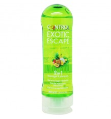 Control Gel Masaje Exotic Escape 200 ml
