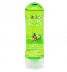 Controle Gel Massagem Exotic Escape 200 ml