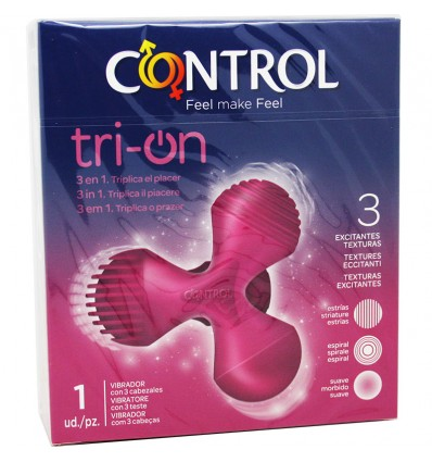 Control Tri On Vibrador 3 Cabezales