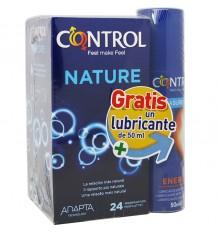 Control Kondome Natur 24 Einheiten Geschenk Schmiermittel
