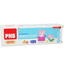 Phb Petit Peppa Pig Gel Dentifrico Fresa 75 ml