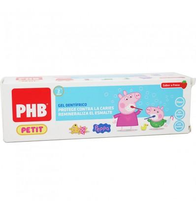 Phb Petit Peppa Pig Gel Dentifrico Fresa 75 ml