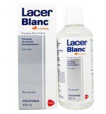 Bain de bouche aux Agrumes Blanc Lacer 500 ml
