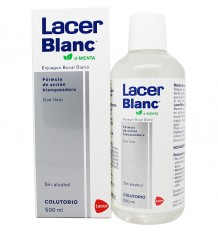 Rince-bouche Menthe Blanche Lacer 500 ml