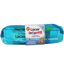 Lacer Enfant Sac de Gel dentifrice 50 ml Pinceau