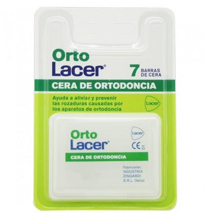 Ortolacer De La Cire Orthodontique 7 Barres De Cire