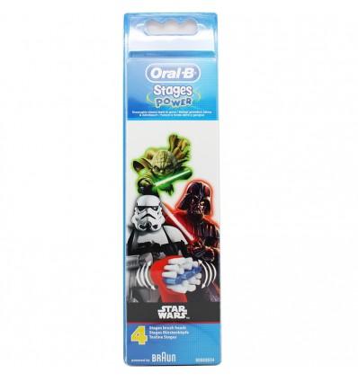 Oral B Cabezal Star Wars 4 Unidades