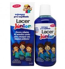 Lacer Júnior Enxágue, Pré Escovado 500 ml