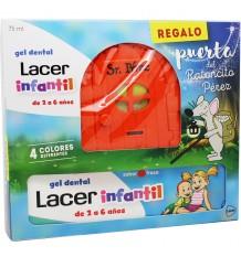 Lacer Infantil Neceser Gel Dental 75 ml Cepillo